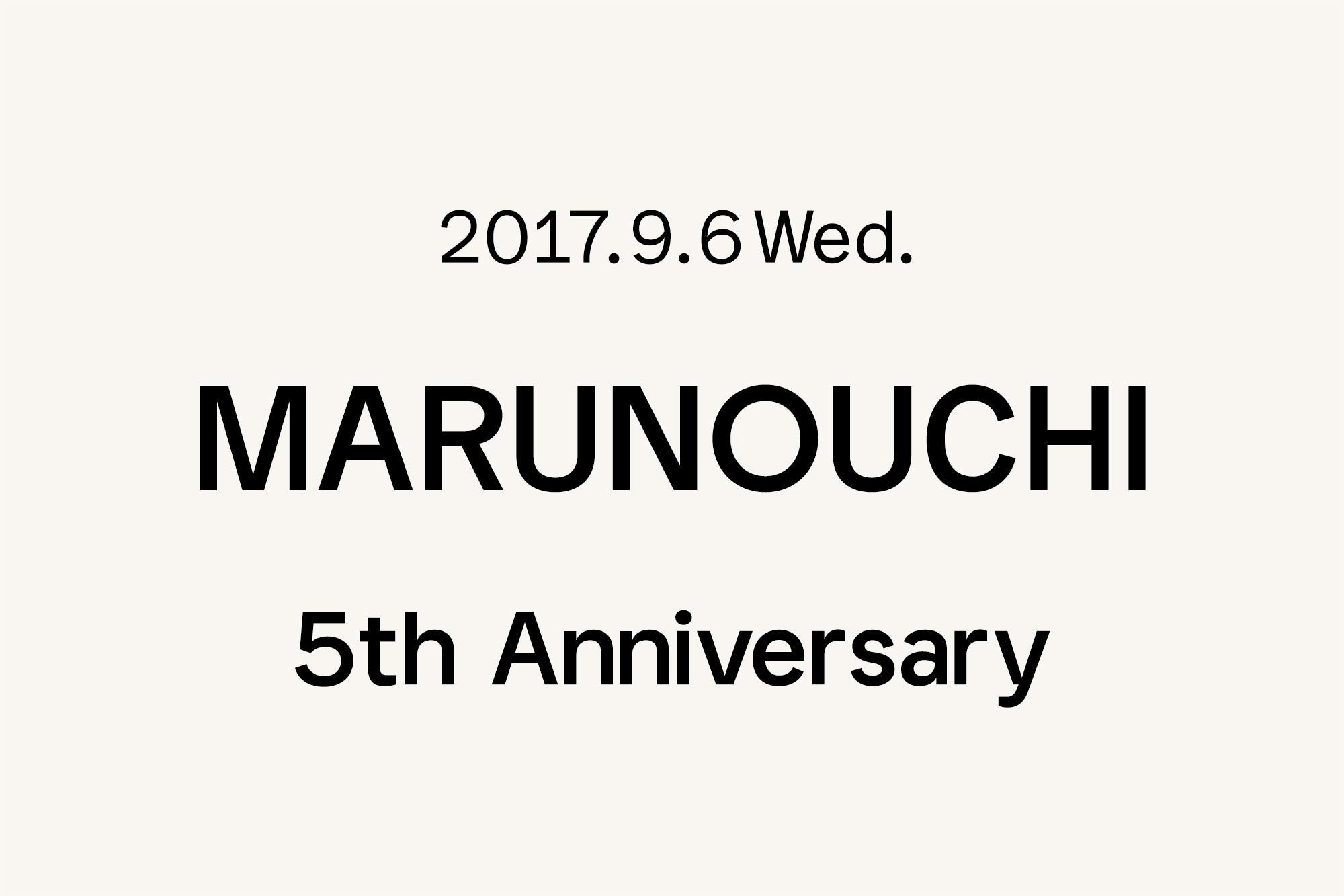 9.6- Marimekko 丸の内店 〜5周年〜