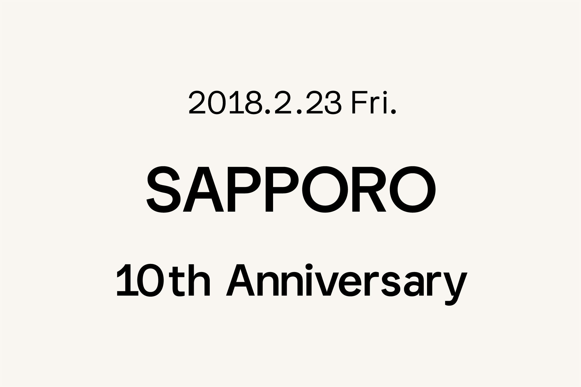 2.23- Marimekko 札幌店 〜10周年〜