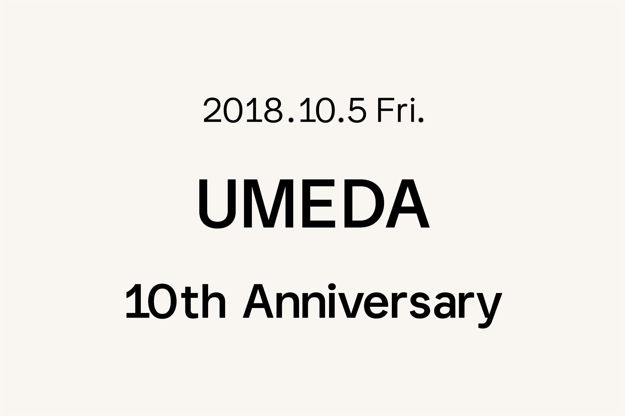10.5- Marimekko 梅田 〜10周年〜
