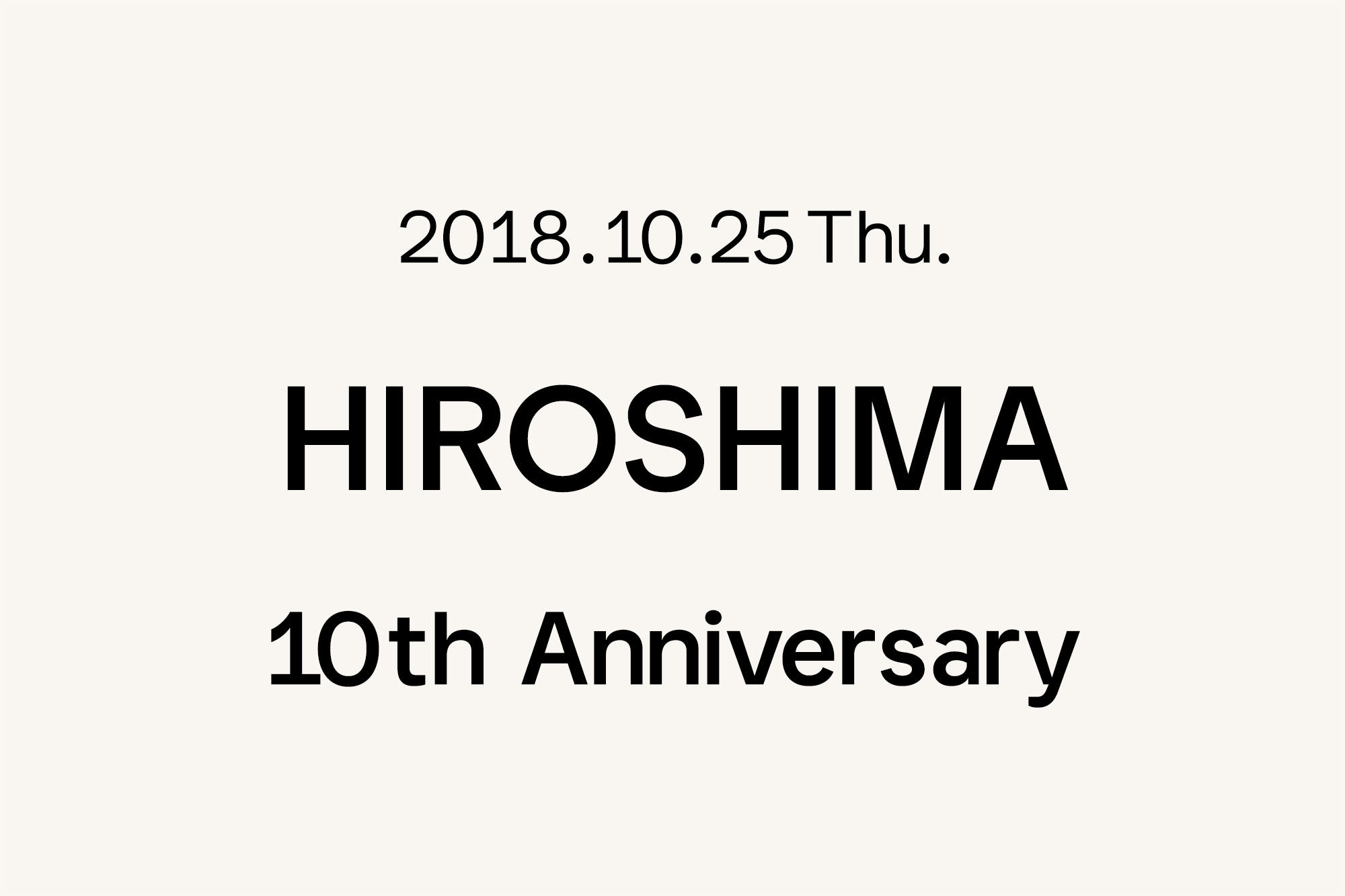 10.25- Marimekko 広島 〜10周年〜