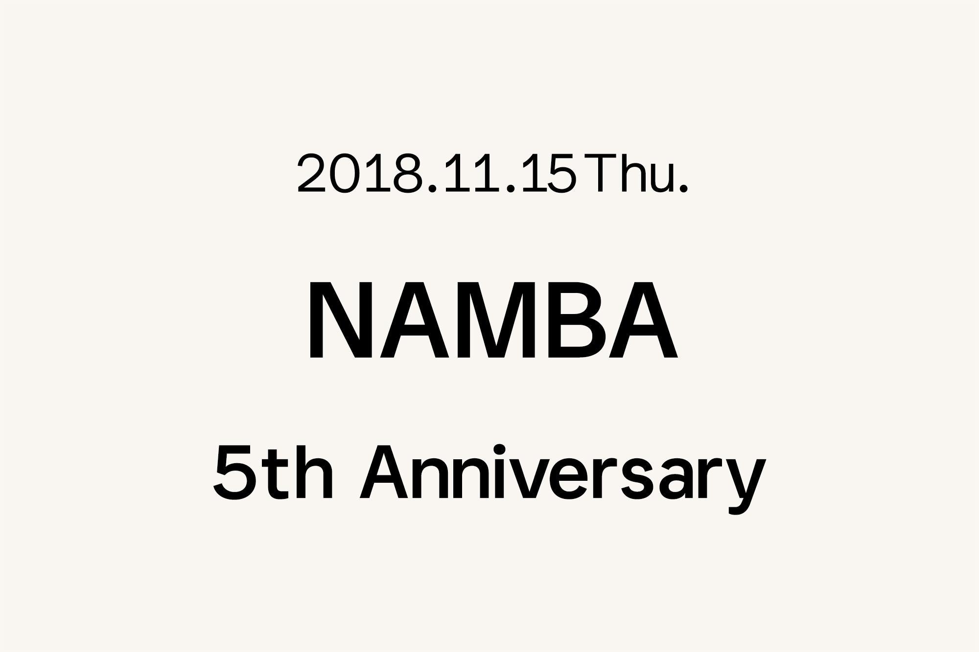 11.15- Marimekko 難波 〜5周年〜