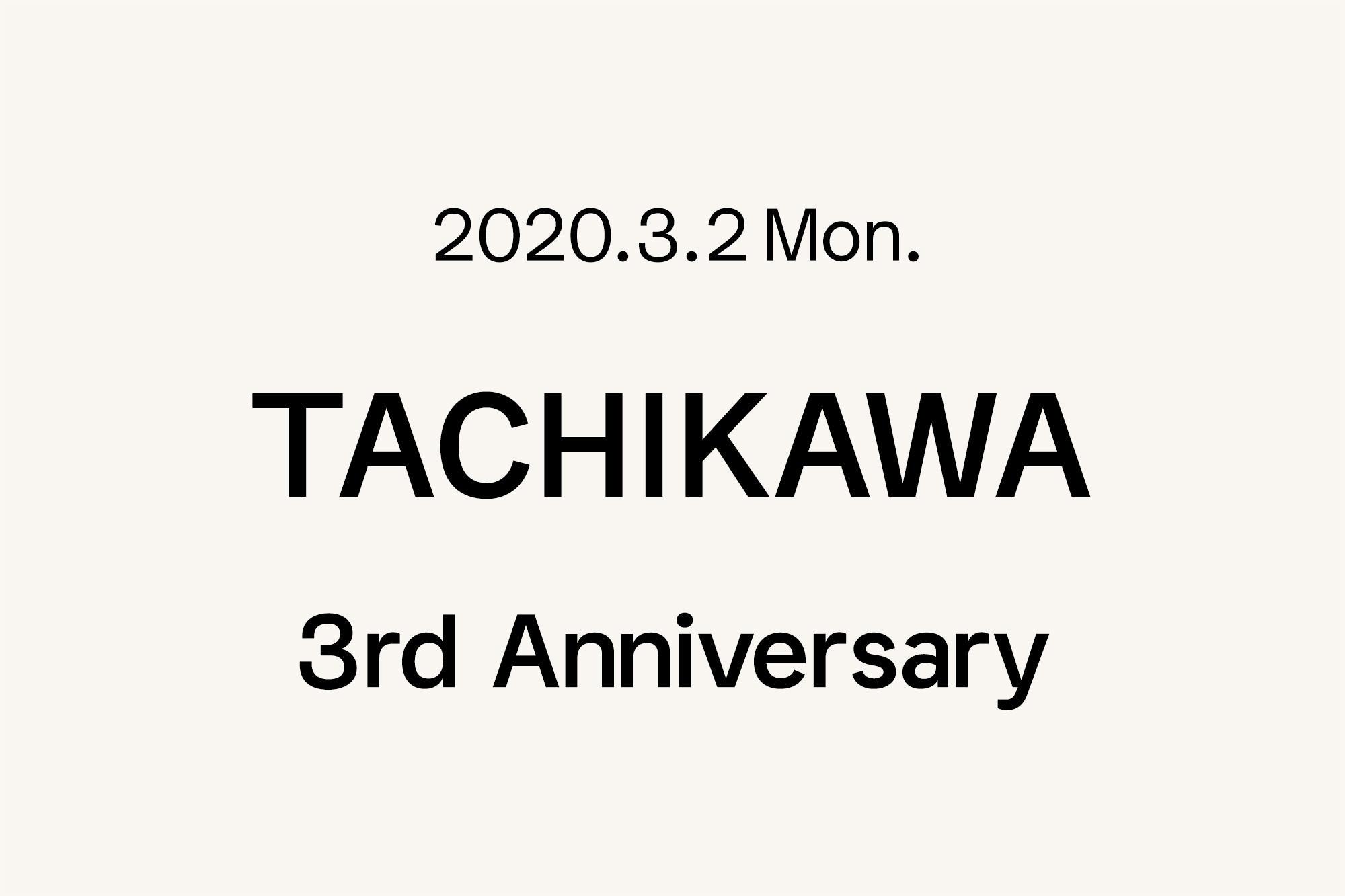 3.2- Marimekko 立川 〜3周年〜