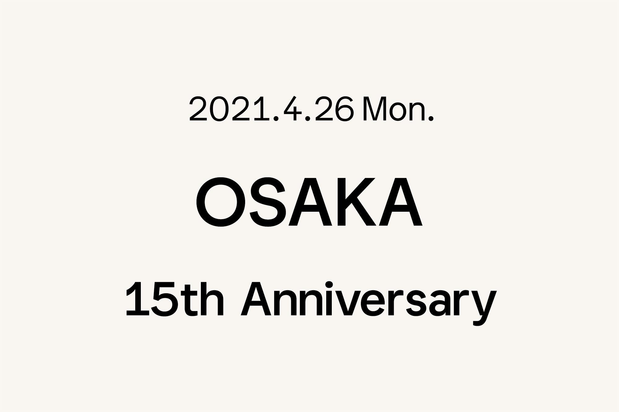 4.26- Marimekko 大阪 〜15周年〜