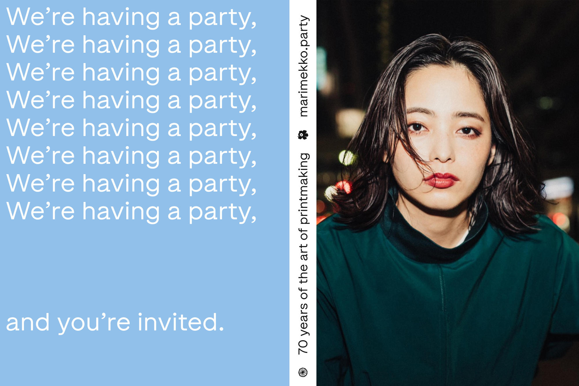 5.21 We're having a party and you're invited!