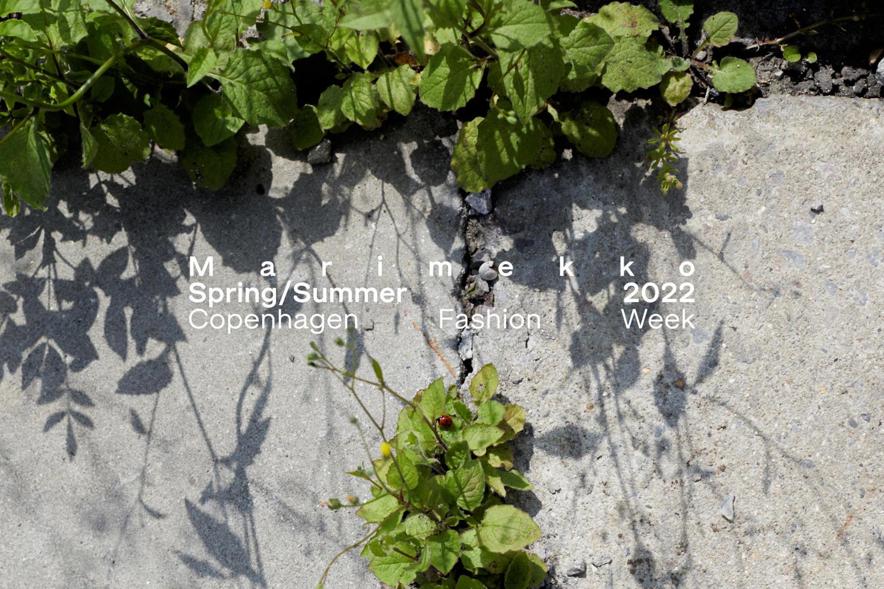 Marimekko Spring/Summer 2022 digital presentation at CPHFW