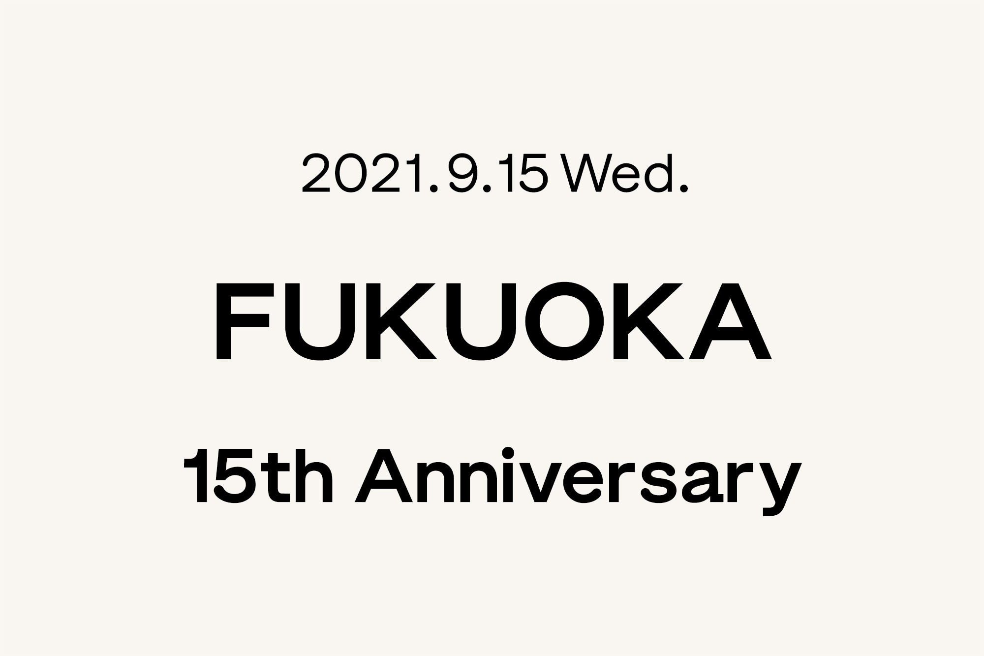 9.15- Marimekko 福岡 〜15周年〜